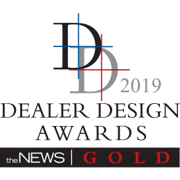 2019 Dealer Design Award - Gold winner