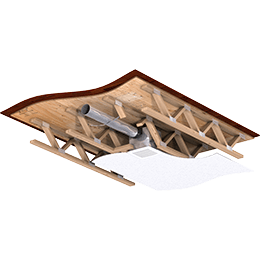 Installation_SP-A-70-CRD_Wood-Ceiling_Wood-Joists