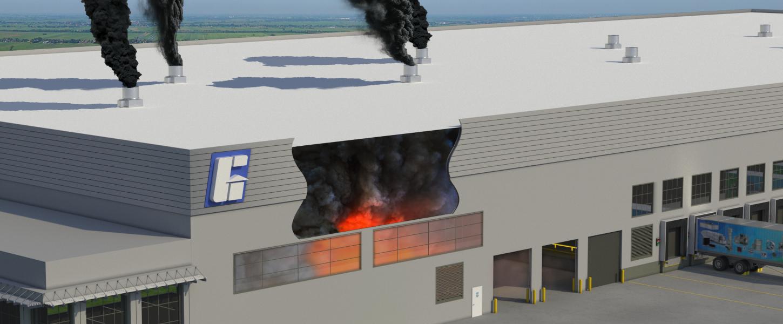 Warehouse Smoke Exhaust