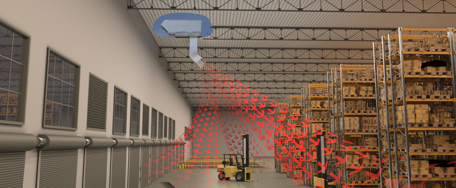 Warehouse Space Heating