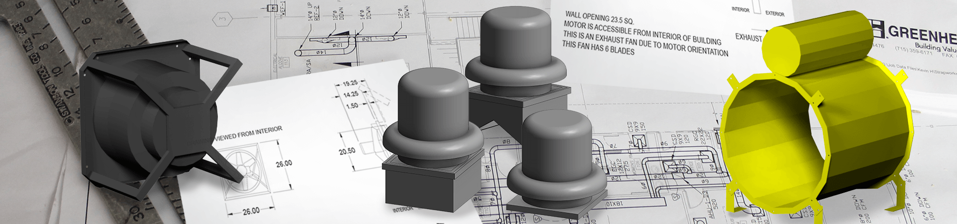 Hvac cad and revit drawing families available for download greenheck swarovskicordoba Gallery