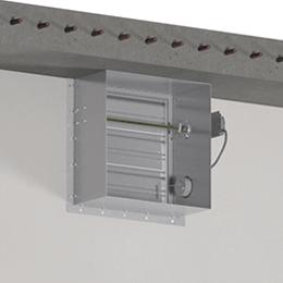 Greenheck-Damper-Three-Sided-Angle-Installation-image